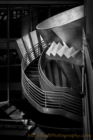 The Glow of Knowledge: The Functional and Fantasy Staircase of the SF Public Library