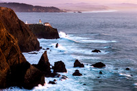 Point Bonita Lighthouse at Sunset